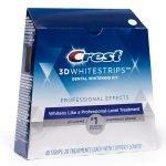 Bělicí pásky Crest 3D White Professional Effects - Celé balení